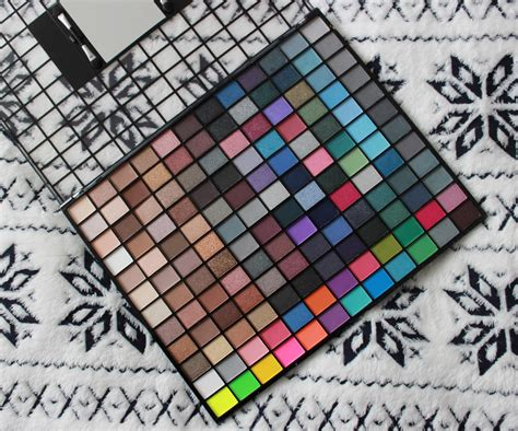 Make Up Ultima Ii makeup revolution 144 eyeshadow palette review mugeek
