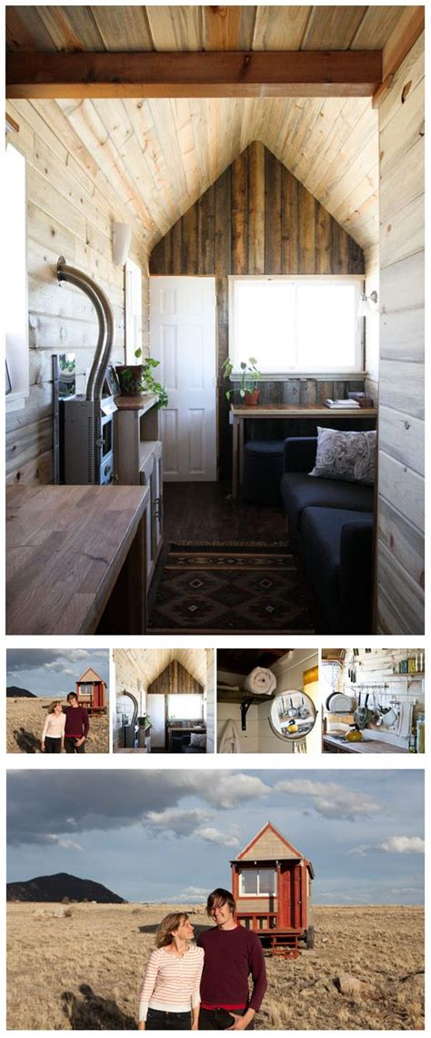 tiny house tour christopher merete s truly tiny home on the range