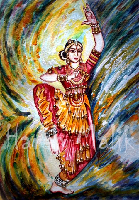 biography of indian classical artist indian classical dance painting bharatanatyam dancing
