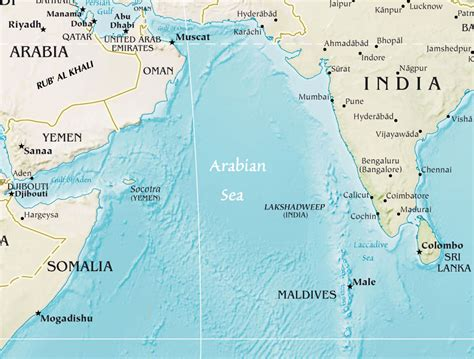 middle east map arabian sea best photos of arabian sea map location arabian sea on