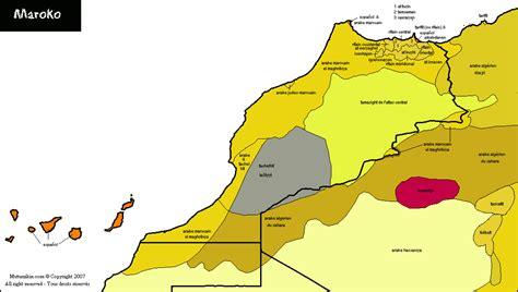 central atlas tamazight simple english wikipedia the maroc carte linguistique