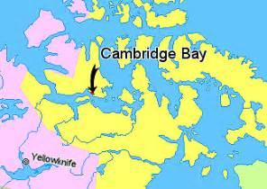 cambridge canada map file map indicating cambridge bay hamlet nunavut