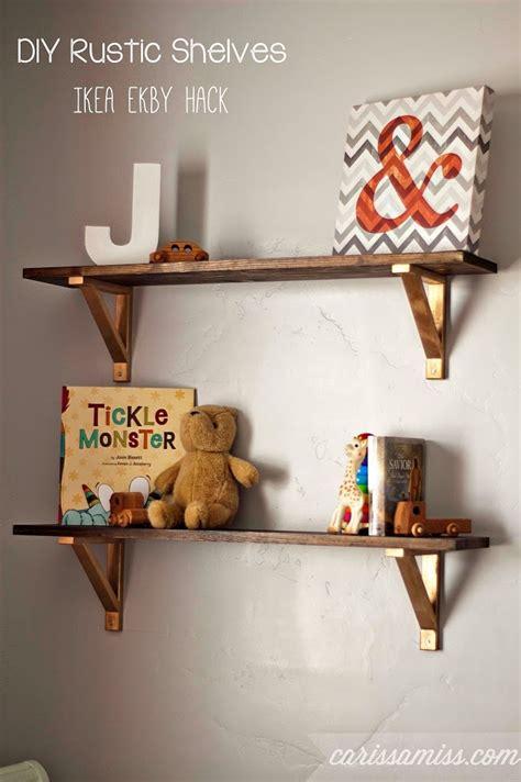 Home Depot Design Your Own Bathroom diy rustic shelves ikea ekby hack carissa miss