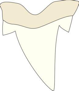 shark tooth clip art at clker com vector clip art online