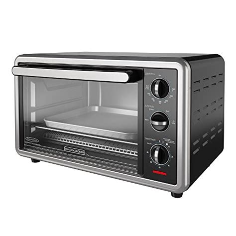 Black And Decker Toaster Oven Rack by Black Decker To1216b 6 Slice Convection Countertop Toaster
