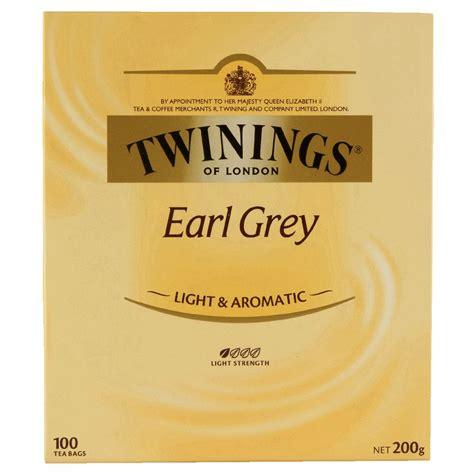 Twinings Earl Grey Tea twinings earl grey tea bags 100 pack officeworks