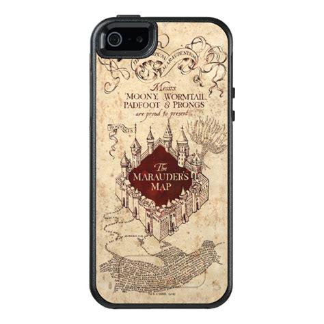 harry potter marauders map otterbox iphone sse case case