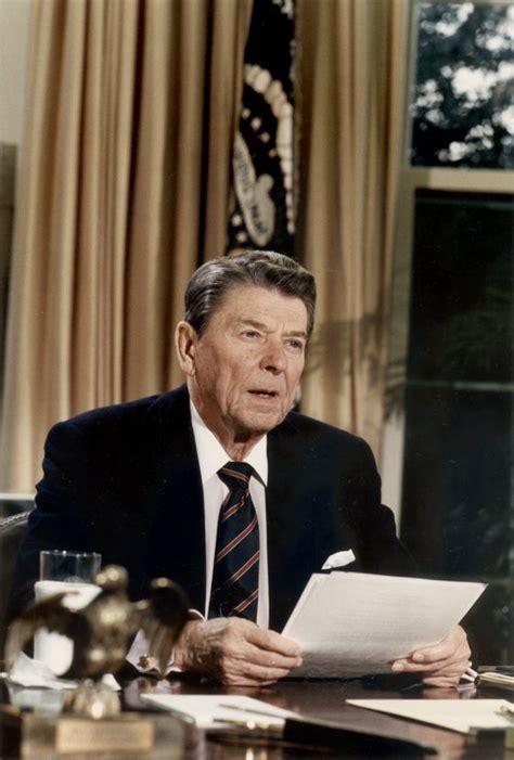 reagan s president reagan s speech to a nation reeling after