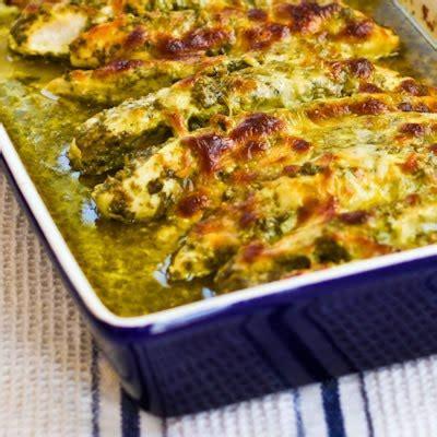 Kalyn s kitchen 174 easy baked pesto chicken