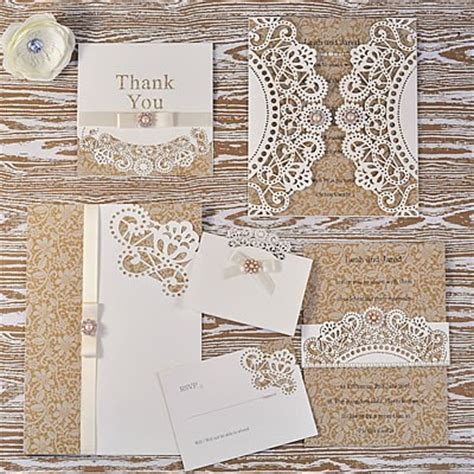 diy lace doily wedding invitations how to make doily laser cut lace wedding range