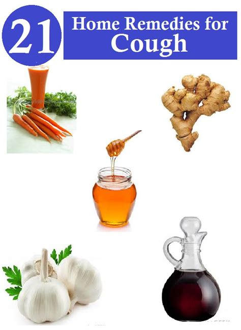 home remedies for cough healthy things