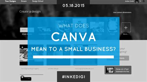 canva owner what does canva mean to a small business