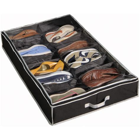 under bed shoe storage under bed shoe organizer in under bed storage