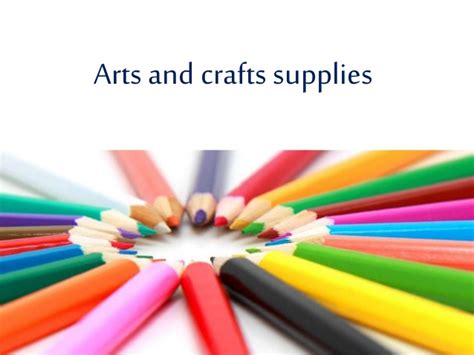 arts and crafts for arts and crafts supplies