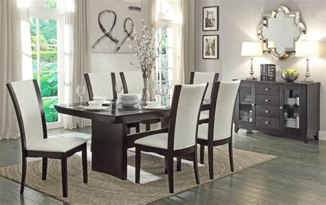 contemporary dining room sets contemporary formal dining table set
