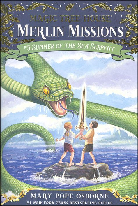 summer of the books summer of the sea serpent magic tree house 31