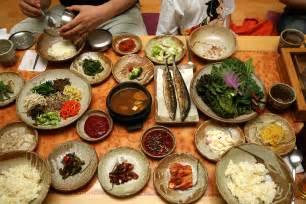 South Food File Korean Food Bibim Ssambap And Various Banchan 01 Jpg