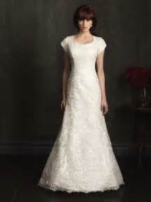 modest lace wedding dresses alluring gown