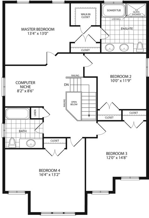 grandview homes floor plans abbey i 2 500 sq ft grandview homes