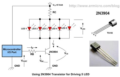 transistor driver calculator zouhair electronics using transistor as a switch