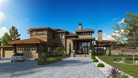 7000 sq ft house plan 12945kn dramatic northwest home with contemporary