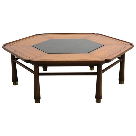 hexagonal coffee table by drexel heritage circa 1968 at