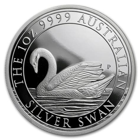1 Oz Silver Swan Perth Mint - silver swan proof 2017 1 oz silver coin in capsule