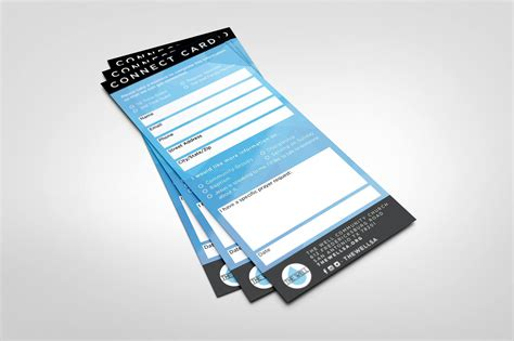 Connect Cards Template by 11 Awesome Church Connection Card Exles Pro Church Tools