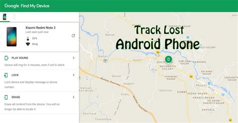 android lost phone app how to track lost android phone without any tracking app trick xpert