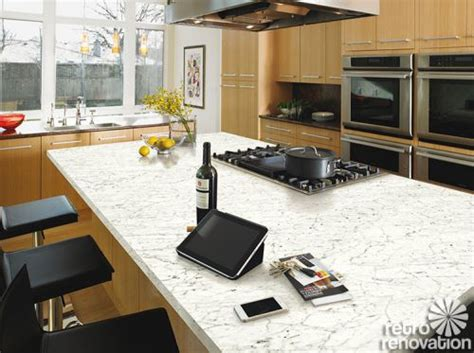 Kitchen Cabinets White formica 6696 46 carrara bianco marble my new top