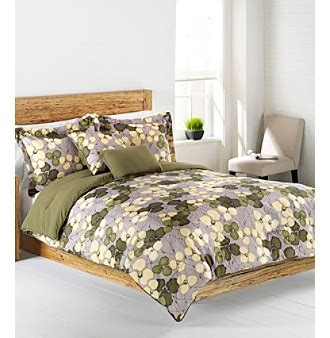 Nip Living Quarters Loft Veridian 4 Piece Bedding Ensemble
