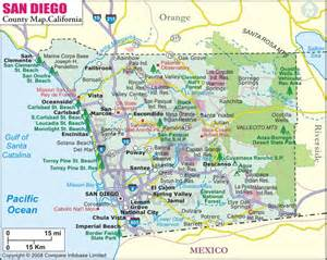 Map San Diego County by 301 Moved Permanently