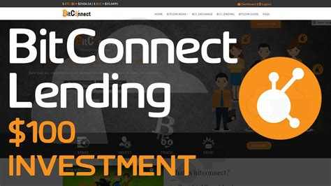 bitconnect api earn 20 50 per month of your investment withdraw your