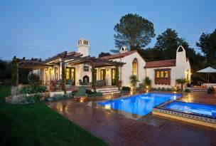 spanish style ranch homes hope ranch spanish style custom home exterior