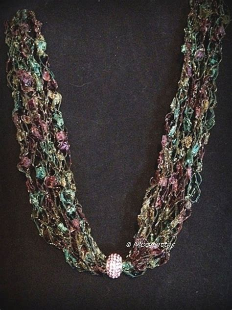 pattern ladder yarn necklace 17 best images about ladder yarn projects on pinterest