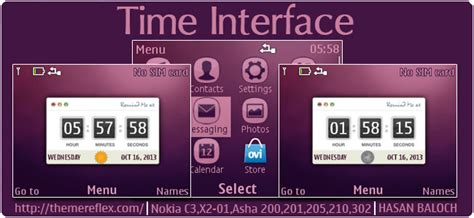 live themes for asha 200 time interface live theme for nokia c3 00 x2 01 asha 200
