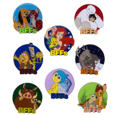 your wdw store disney pin bffs mystery pin collection disney pins blog
