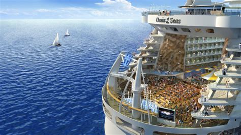royal caribbeans newest ship royal caribbean launching the world s biggest cruise ships