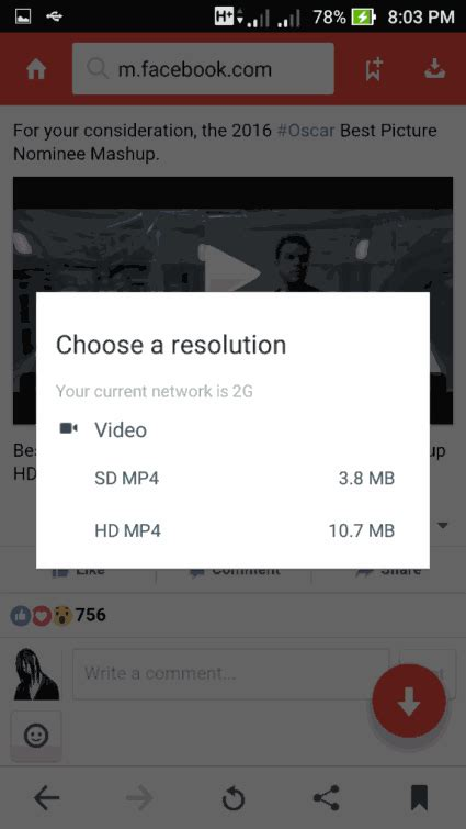 download section of youtube video how to download youtube and facebook videos on android phone