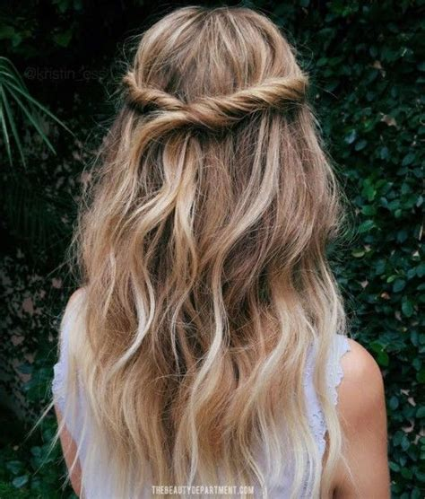 easy half up hairstyles for school 15 casual simple hairstyles that are half up half