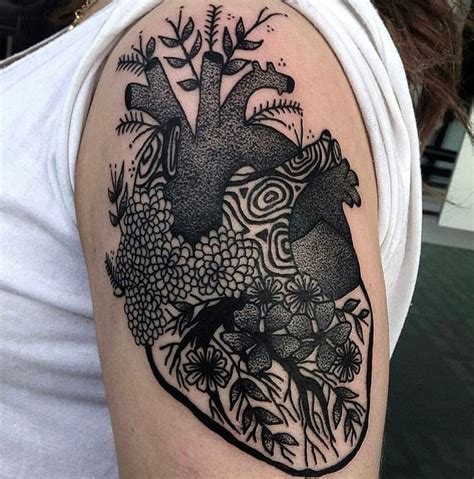 tattoo over heart images