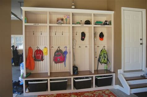 mudroom organization mudroom in garage ideas decor ideasdecor ideas