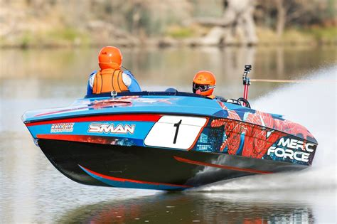 worlds fastest outboard boat mercury fantastic at the fastest ski race in the world
