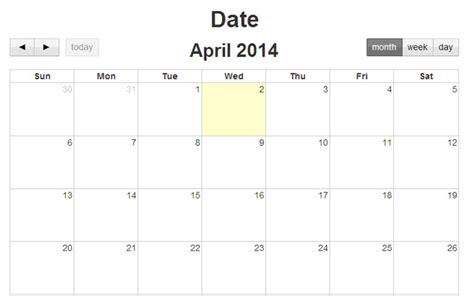 calendar layout bootstrap bootstrap template for calendar calendar template 2016