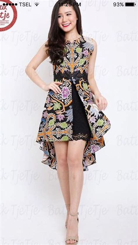 desain dress pendek batik 1000 images about batik kebaya ethnic fashion on