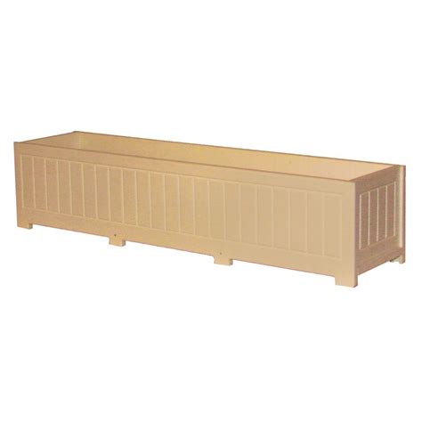 Eagle One Catalina 48 In X 12 In Cedar Recycled Plastic Home Depot Planter Boxes
