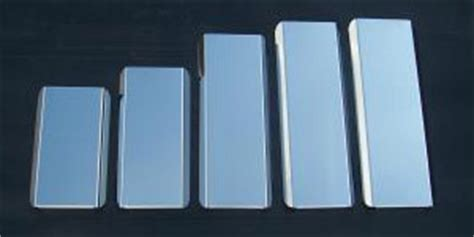 stainless steel mirror guards  trucks gallery stoneman stainless