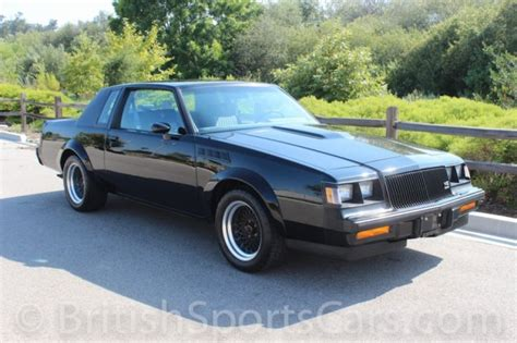 buick sport car sports cars 1987 buick grand national gnx for