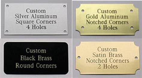 Home Interior Horse Pictures by Custom Engraved Brass Nameplates Us Brass Shop