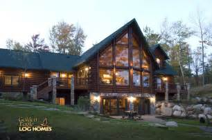 eagle log homes golden logs cabin home house houses rustic cabins small plans one story